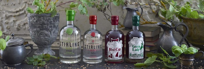 Stirling Gin Distillery is home of Stirling Gin, Battle Strength and The Folklore Collection